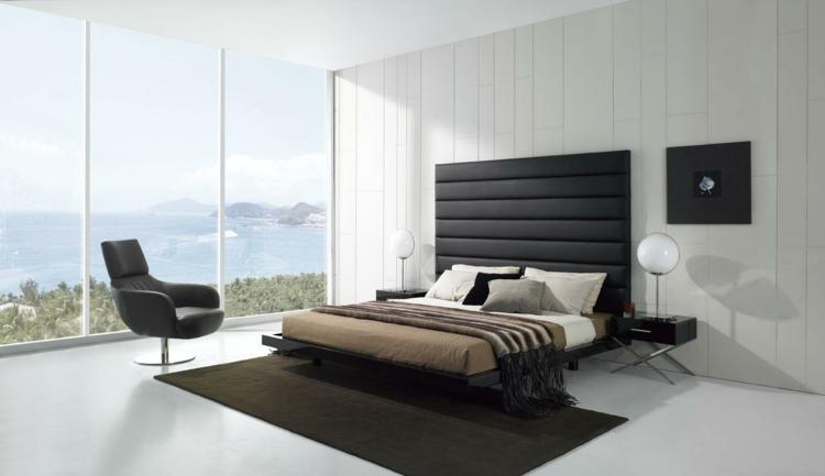 Schlafzimmer Modern Schwarz Weiß Charmant On überall Amocasio Com 2