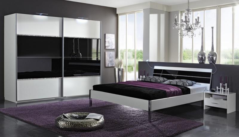 Schlafzimmer Modern Schwarz Weiß Kreativ On überall Terrasse Neueste 3