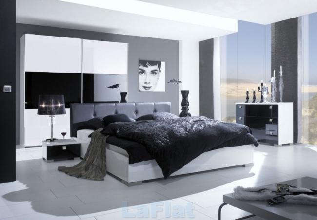 Schlafzimmer Modern Schwarz Weiß Schön On In Arkimco Com 4