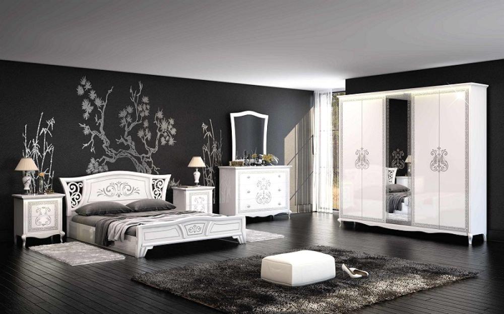 Schlafzimmer Modern Schwarz Weiß Zeitgenössisch On Innerhalb Home Dekor Beeiconic Com 6