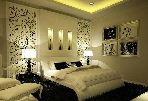 Schlafzimmer Romantisch Modern Nett On Für Ideen Mild Auf Auch 8