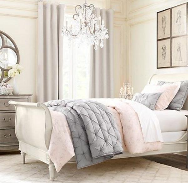 Schlafzimmer Rosa Grau Exquisit On Für Home Design Ideas 1