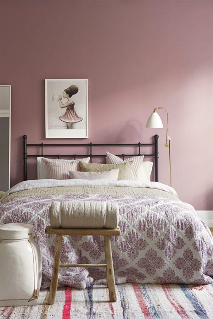 Schlafzimmer Rosa Grau Fein On Innerhalb Uncategorized Ehrfürchtiges Und 8