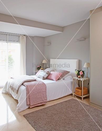 Schlafzimmer Rosa Grau Nett On In Imponierend Magnificent Zimmer 5