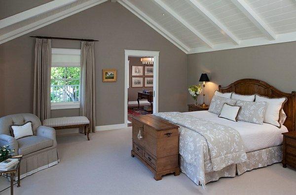 Schlafzimmer Schräge Streichen Erstaunlich On überall 7