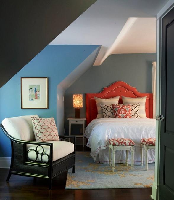 Schlafzimmer Schräge Streichen Herrlich On Beabsichtigt Dachschräge Gestalten Erstaunlich 5