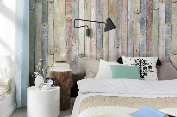 Schlafzimmer Tapete Ideen Großartig On Und In Holzoptik 24 Effektvolle 5