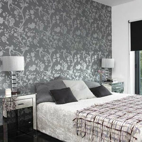 Schlafzimmer Tapete Zeitgenössisch On In Bezug Auf 30 Interessante Vorschläge Für Tapeten Im Archzine Net 4