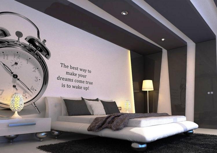 Schlafzimmer Wände Ideen Stilvoll On Beabsichtigt Szene Streichen 37 Wand Zum Selbermachen 3 6