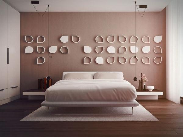 Schlafzimmer Wände Ideen Wunderbar On Beabsichtigt Schlafzimmerwand Gestalten 40 Wunderschöne Vorschläge 5