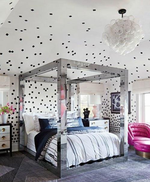 Schlafzimmer Wände Ideen Wunderbar On Und Wandgestaltung Kreative Als Inspiration 9