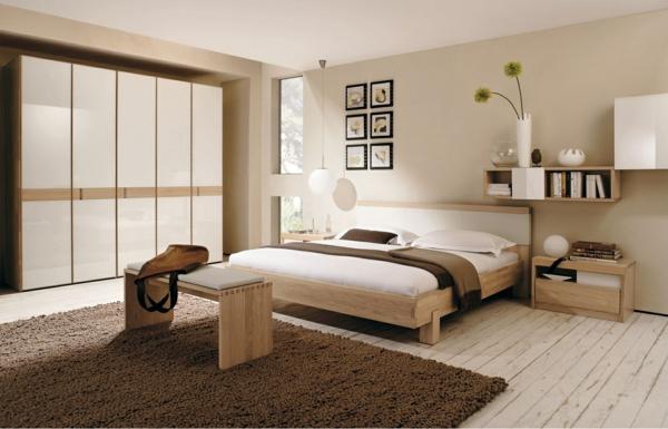 Schlafzimmer Wandfarben Ideen Großartig On Für Und Entzückend 4