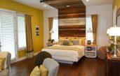 Schlafzimmer Wandgestaltung Braun