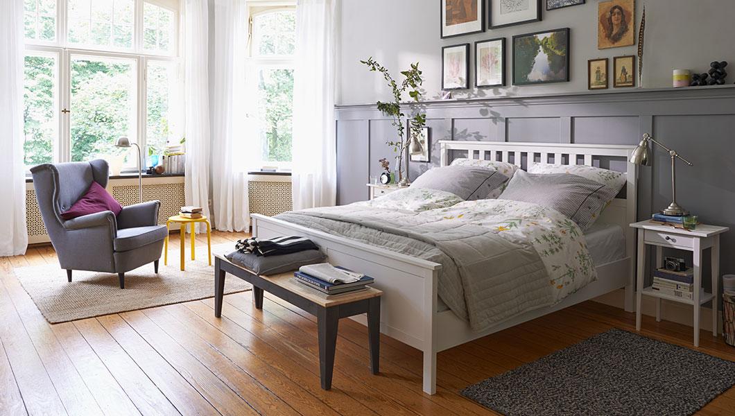 Schlafzimmer Weiß Ikea Imposing On Innerhalb Im Landhausstil Tipps Ideen IKEA 4