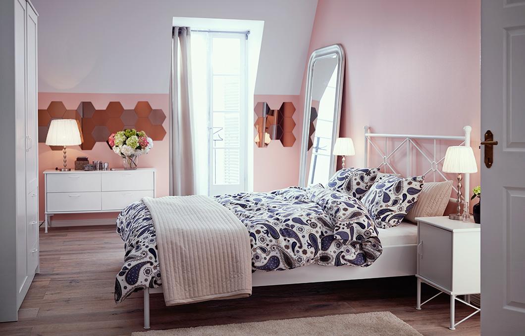 Schlafzimmer Weiß Ikea Imposing On Und Dekoration Weiße Deko IKEA 8