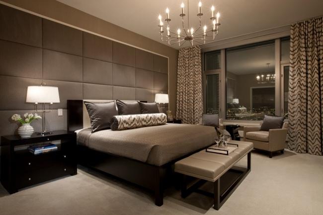 Schöne Braune Schlafzimmer