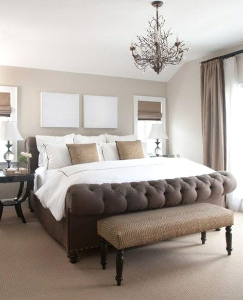Schöne Braune Schlafzimmer Erstaunlich On Braun Und Gut Schone Zum Mit 1 Angenehm