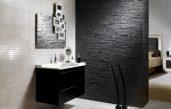 Schwarze Badezimmer Ideen
