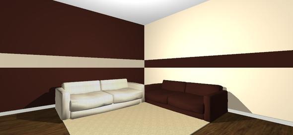 Streifen An Der Wand Braun Interessant On Auf 2