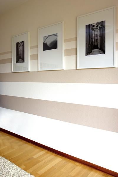 Streifen An Der Wand Braun Stilvoll On In Bezug Auf 3