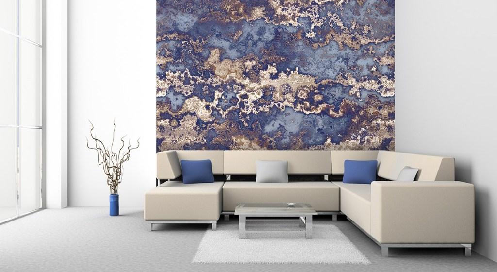 Tapete Braun Beige Akzent Wand Wohnzimmer Einzigartig On In 100 Images Stunning Wohnideen 4