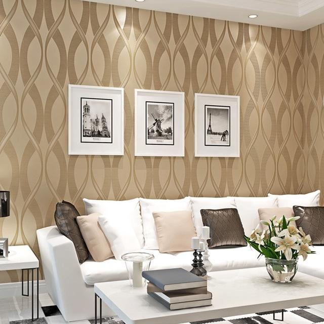 Tapete Wohnzimmer Beige Nett On überall Tapeten Teydecoco Modern 3