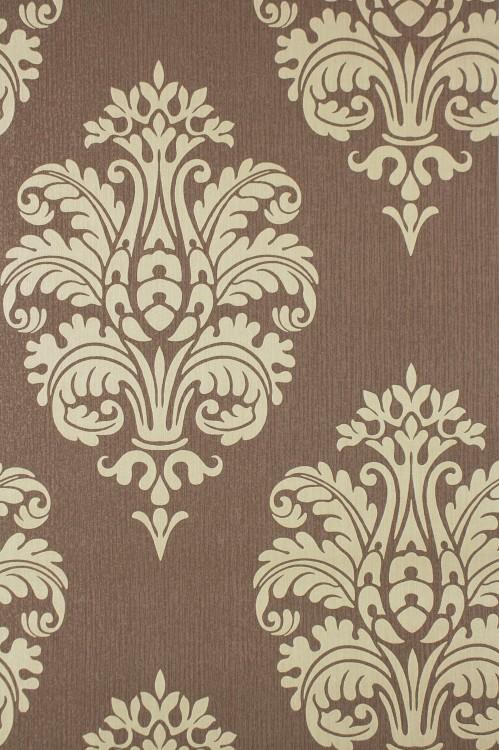 Tapeten Braun Beige Muster Fein On Mit Vliestapete Rasch Barock Luxus 740905 1