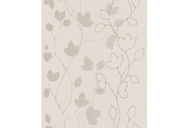 Tapeten Braun Beige Muster Zeitgenössisch On In Rasch Tapete Silber 770230 Hertie De 3