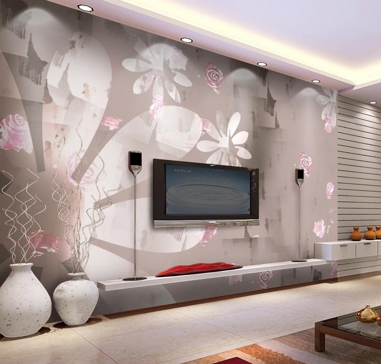 Tapeten Ideen Fürs Wohnzimmer Exquisit On überall Malerische Fur Outside Tipps Für Start 3