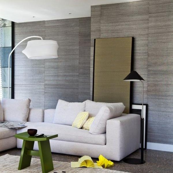 Tapeten Ideen Fürs Wohnzimmer Glänzend On Für Nett 80 Coole Moderne Muster Modern 2015 9