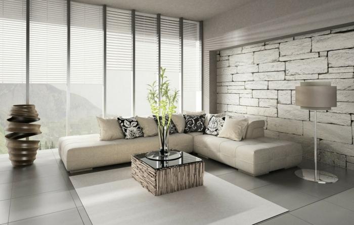 Tapeten Vorschläge Wohnzimmer Nett On In Bezug Auf 71 Ideen Wie Sie Die Wohnzimmerwände Beleben 1