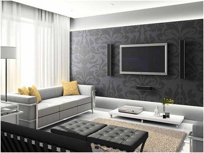 Tapeten Wohnzimmer Ideen 2015 Modern On Für Beeindruckend Auf Tapete Up To 3