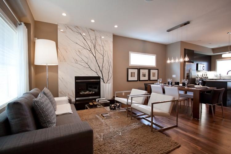 Taupe Inneneinrichtung Einfach On Andere Und Wandfarbe Edle Kulisse Für Möbel Accessoires 2