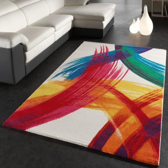 Teppich Design Modern Erstaunlich On In Bezug Auf Uncategorized Tolles Und Rug Mozaik Woven 3