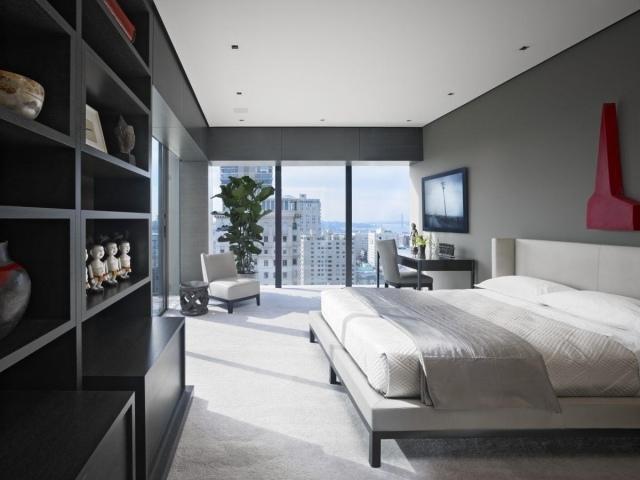 Teppichbode Schlafzimmer Grau Beeindruckend On Beabsichtigt Fensterfront Graue Wandfarbe Heller Teppichboden 7