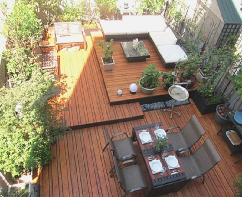 Terrassen Ideen Unglaublich On Und Garten Treefunder Co 6