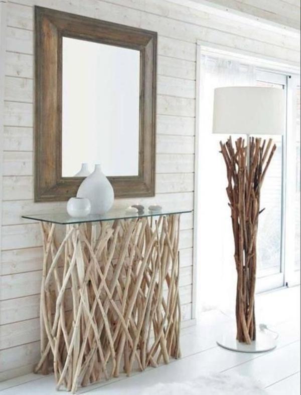 Treibholz Tisch Stilvoll On Andere Innerhalb Wohnzimmertisch Selber Bauen Flur Pinteres 9
