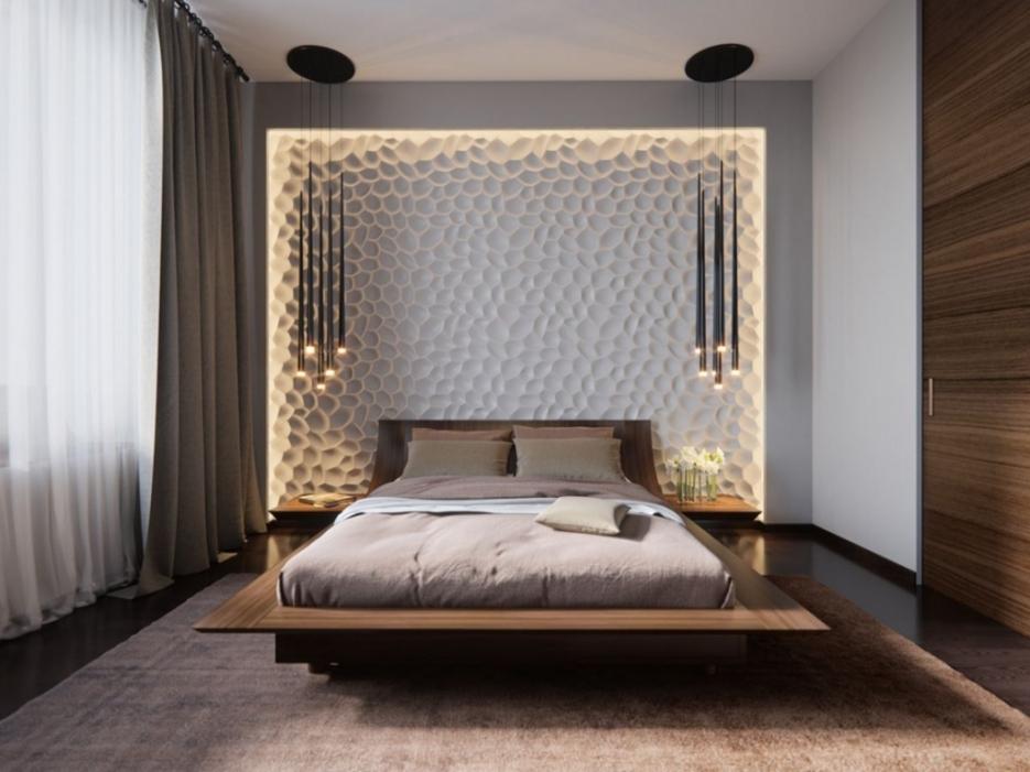 Wand Interessant On Schlafzimmer Beabsichtigt Uncategorized Cool Gestaltung 4
