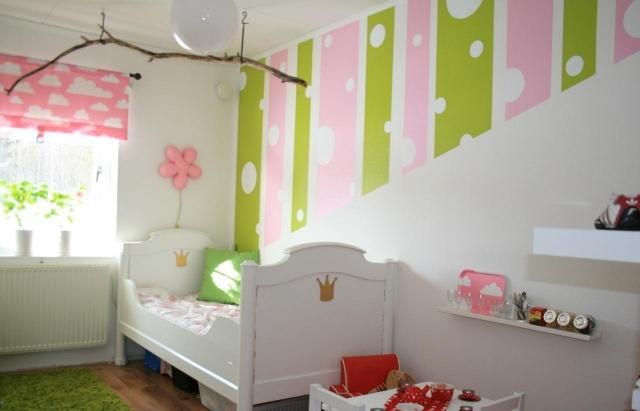 Wand Rosa Streichen Ideen Ausgezeichnet On Innerhalb Babyzimmer Beispiele Bestmögliche Bild Der 9