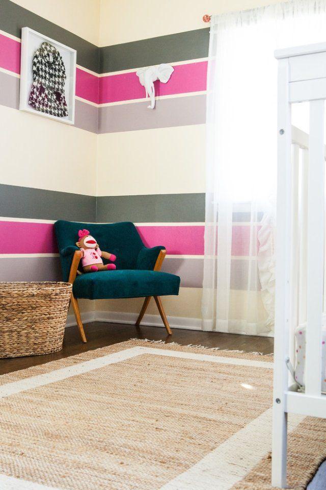 Wand Rosa Streichen Ideen Kreativ On In Bezug Auf Die Besten 25 Kinderzimmer Pinterest Tafel 7