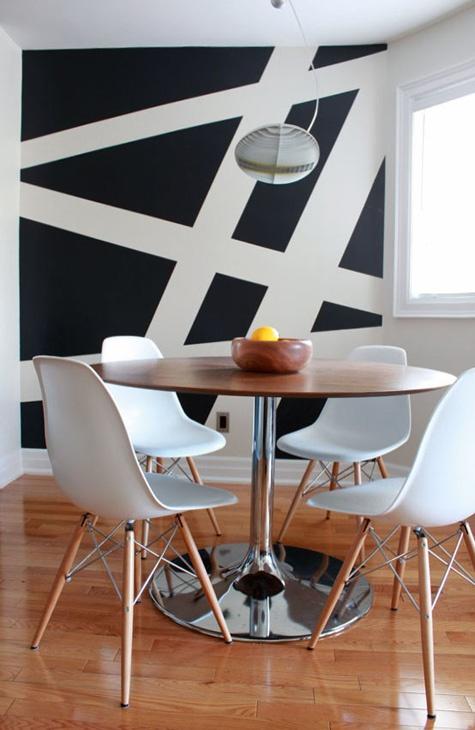 Wanddesign Streifen Ideen Frisch On Auf Gestaltung Top Wandgestaltung Wand Streichen 4