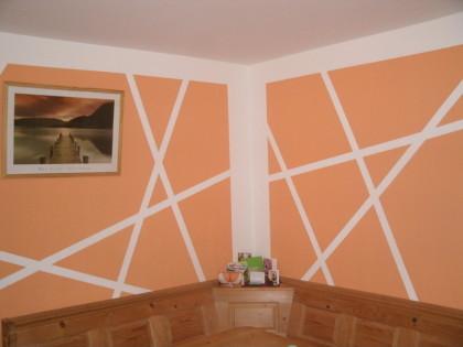Wanddesign Streifen Ideen Imposing On überall Schmuck Wand Designs Mit 6