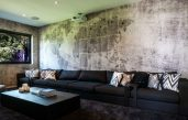 Wanddesign Wohnzimmer