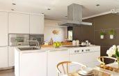 Wandfarbe Braun Küche