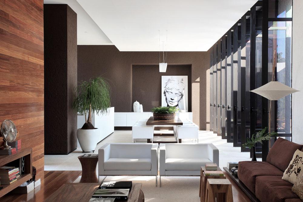 Wandfarbe Braun Weiß Bemerkenswert On Innerhalb Zimmer Streichen Ideen In FresHouse 6