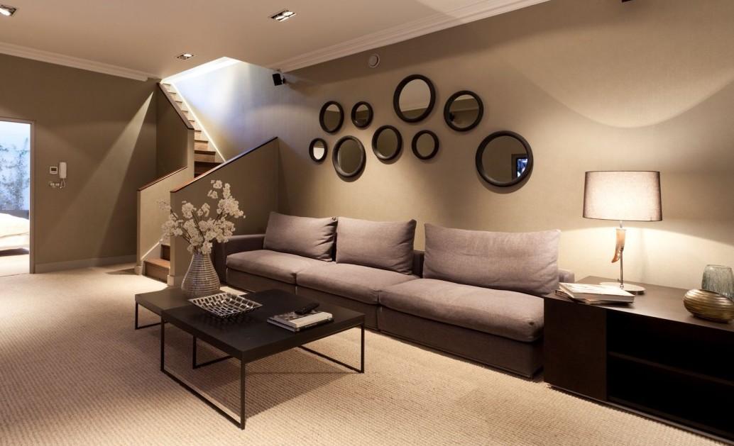 Wandfarbe Braun Weiß Einfach On überall Zimmer Streichen Ideen In FresHouse 1