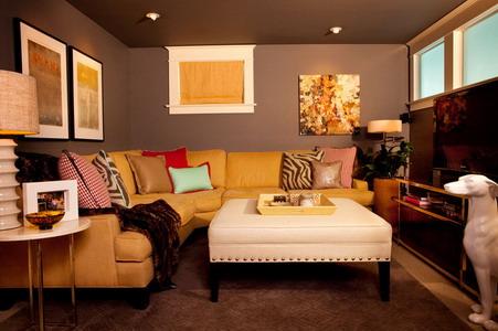 Wandfarbe Braun Weiß Glänzend On Beabsichtigt Wohnzimmer Inspirationen Der Braunen 9