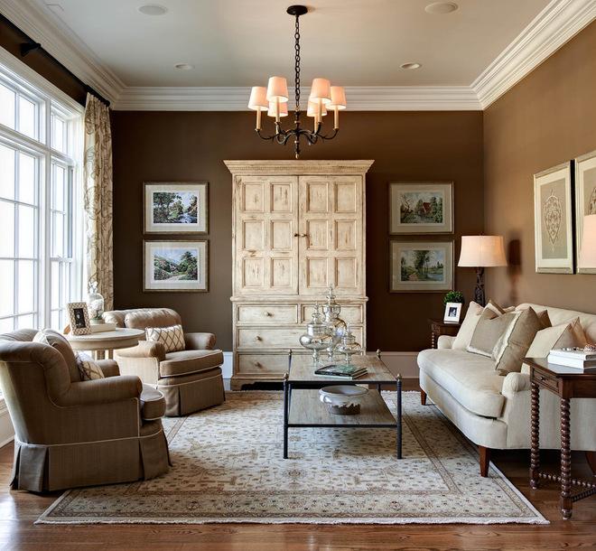 Wandfarbe Braun Weiß Glänzend On Innerhalb Zimmer Streichen Ideen In FresHouse 3