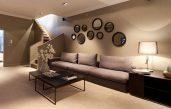 Wandfarbe Braun Wohnzimmer