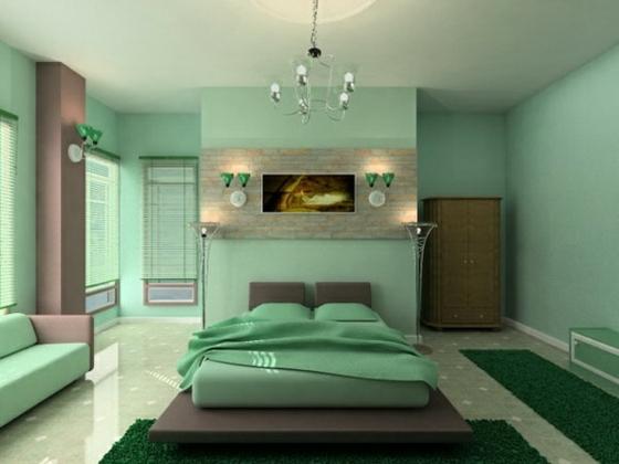 Wandfarbe Wohn Und Schlafzimmer